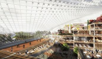 Google New Headquarters Thomas Heatherwick Bjarke Ingels BIG Google North Bayshore Campus 3