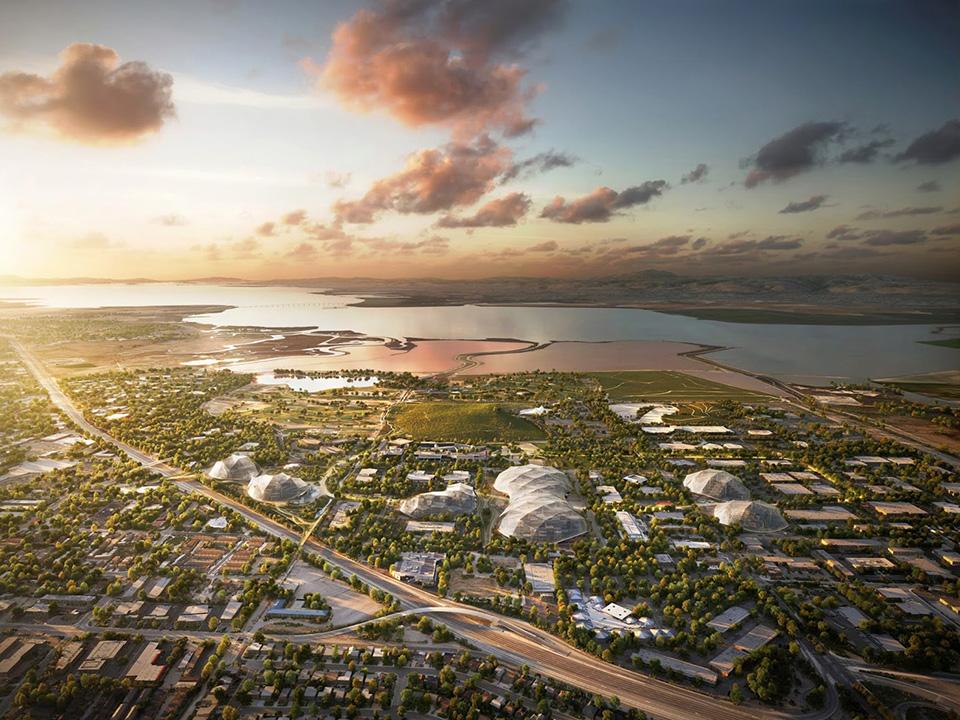 Google New Headquarters Thomas Heatherwick Bjarke Ingels BIG Google North Bayshore Campus 4