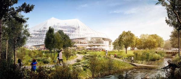 Google New Headquarters Thomas Heatherwick Bjarke Ingels BIG Google North Bayshore Campus 7