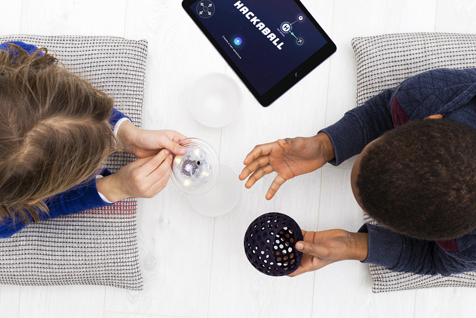 Hackaball Programmable Smart Toy for Kids 6