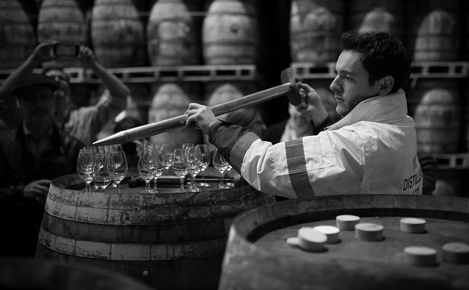 Jameson Irish Whiskey Aging Barrels - Tasting 2 - Ireland Travel St. Patrick's Day - Midleton Ireland - © Seamus Payne