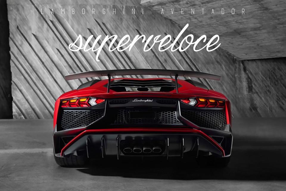 Lamborghini Aventador LP 750-4 Superveloce – pinterest