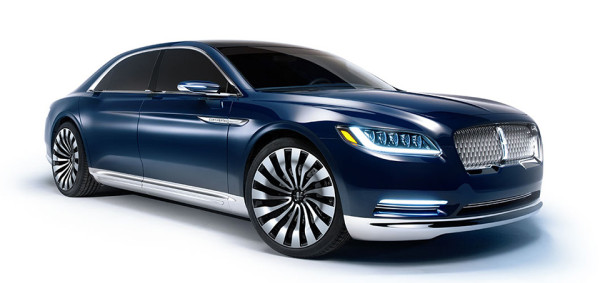Lincoln Continental Concept 1 600x283 The New Lincoln Continental Concept is Far More Than Just a Concept