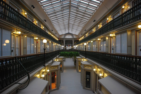 Micro Apartments The Arcade Providence 7 600x401 Americas Oldest Mall Has Been Re Imagined as an Urban Micro Loft Community