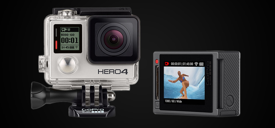 Travel Cameras 2015 - Adventure Travel Camera - GoPro Hero 4 Silver - 1bl