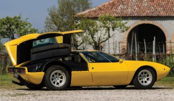 1968 De Tomaso Mangusta by Ghia 10