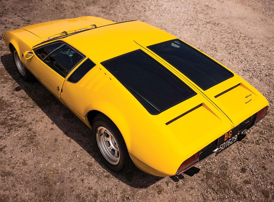 1968 De Tomaso Mangusta by Ghia 12