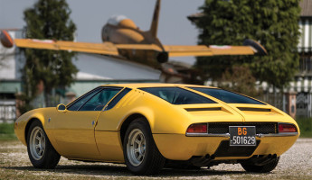 1968 De Tomaso Mangusta by Ghia 2