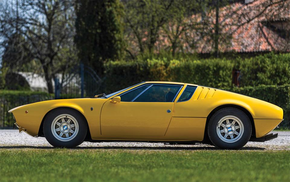 1968 De Tomaso Mangusta by Ghia 3
