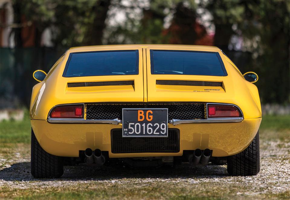 1968 De Tomaso Mangusta by Ghia 5