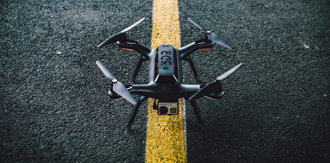 3DR Solo Drone hero