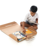 Cardboard Design for Good: Aarambh Helpdesk Cardboard Desk 1