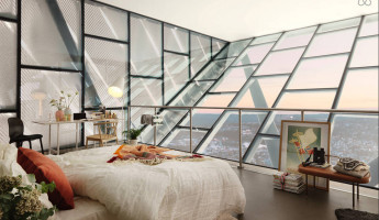 AirBnB Mid-Century Ski Jump Penthouse in Norway 1