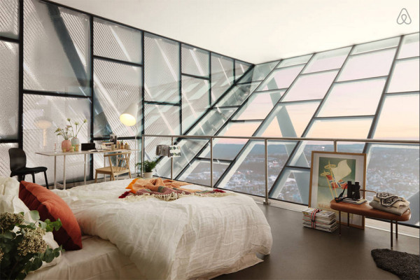 AirBnB Mid Century Ski Jump Penthouse in Norway 1 600x400 This Ski Jump Penthouse is AirBnBs Most Awesome Listing Ever
