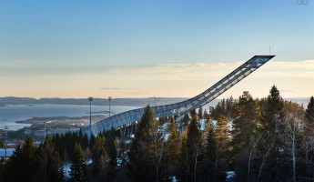AirBnB Mid-Century Ski Jump Penthouse in Norway 3