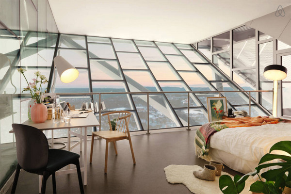 AirBnB Mid-Century Ski Jump Penthouse in Norway 6