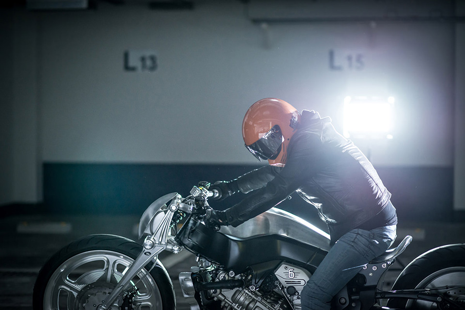 BMW K 1600 GTL Ignite Straight Six by Kens Factory 3