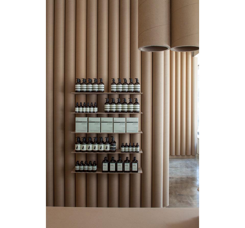 Cardboard Retail Shop Interior 2
