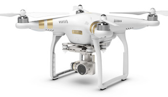 DJI Phantom 3 video drone 1 345x200 DJI Phantom 3 Video Drone Ditches the GoPro for Aerial Optimized 4K