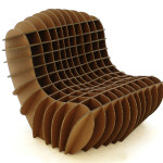 David Graas Cardboard chair