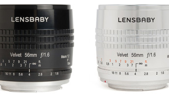 Lensbaby Velvet 56 lens collection