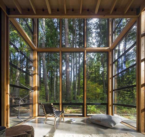 Lightbox House by Bohlin Cywinski Jackson 5 600x568 The Lightbox House: A Photographers Dream House near Puget Sound
