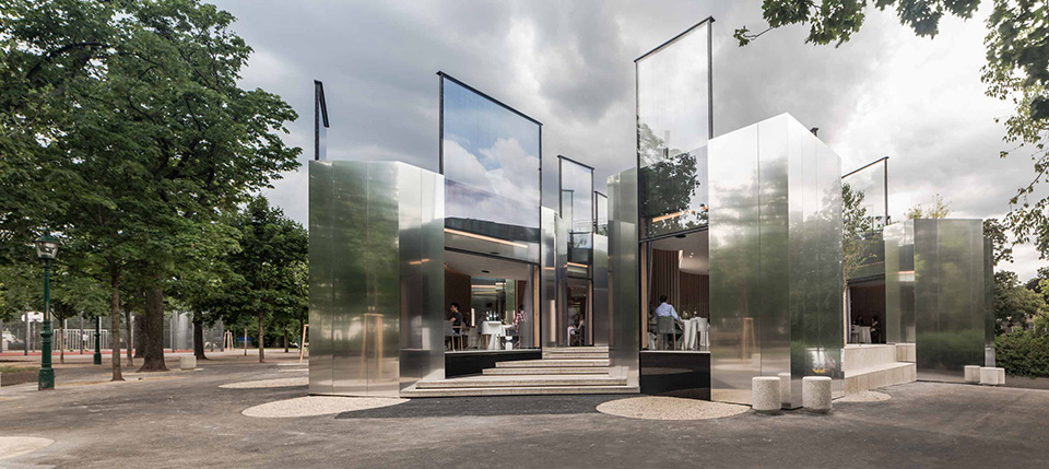 Mirrored Architecture – Steirereck Restaurant by PPAG 2
