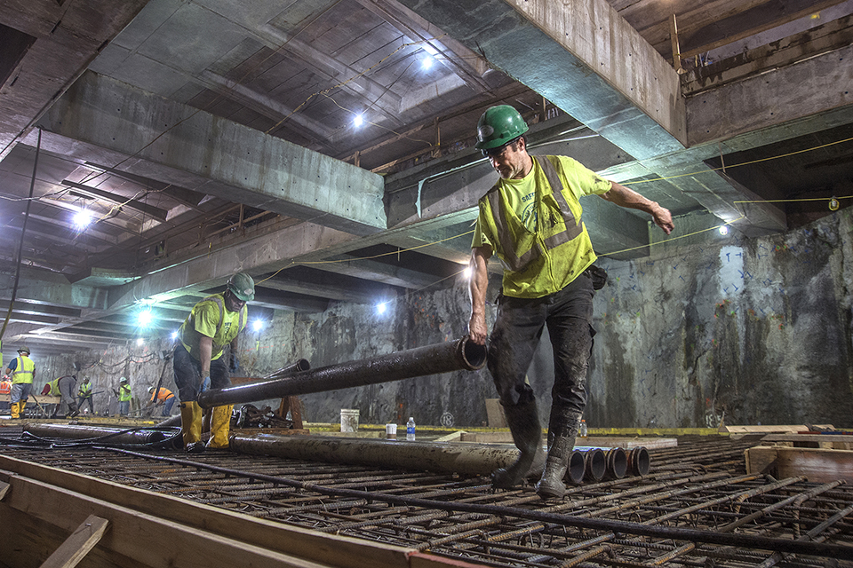 NYC Second Avenue Subway Construction Photos by MTA 5 photo by Patrick Cashin