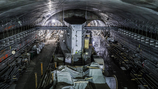 NYC Second Avenue Subway Construction Photos by MTA 9 by Rehema Trimiew  -  edited for mood