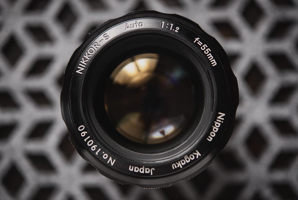 Nikkor-55mm-f1point2-4