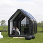 Pop Up Housing - AirClad Black House Inflatable Housing 1