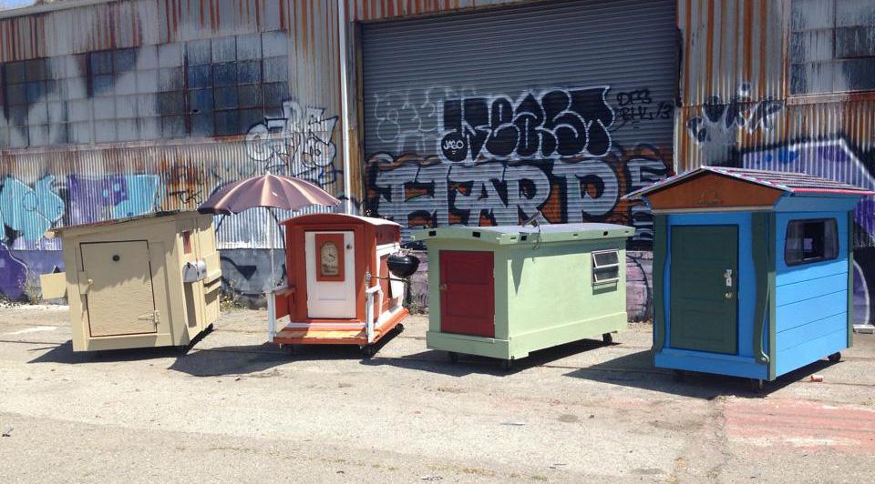 Pop Up Housing – Gregory Kloehn Homeless Shelters 1