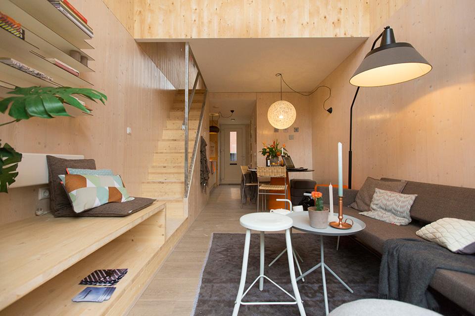 Pop Up Housing – Heijmans ONE Low Cost Modern Pop-Up House 2