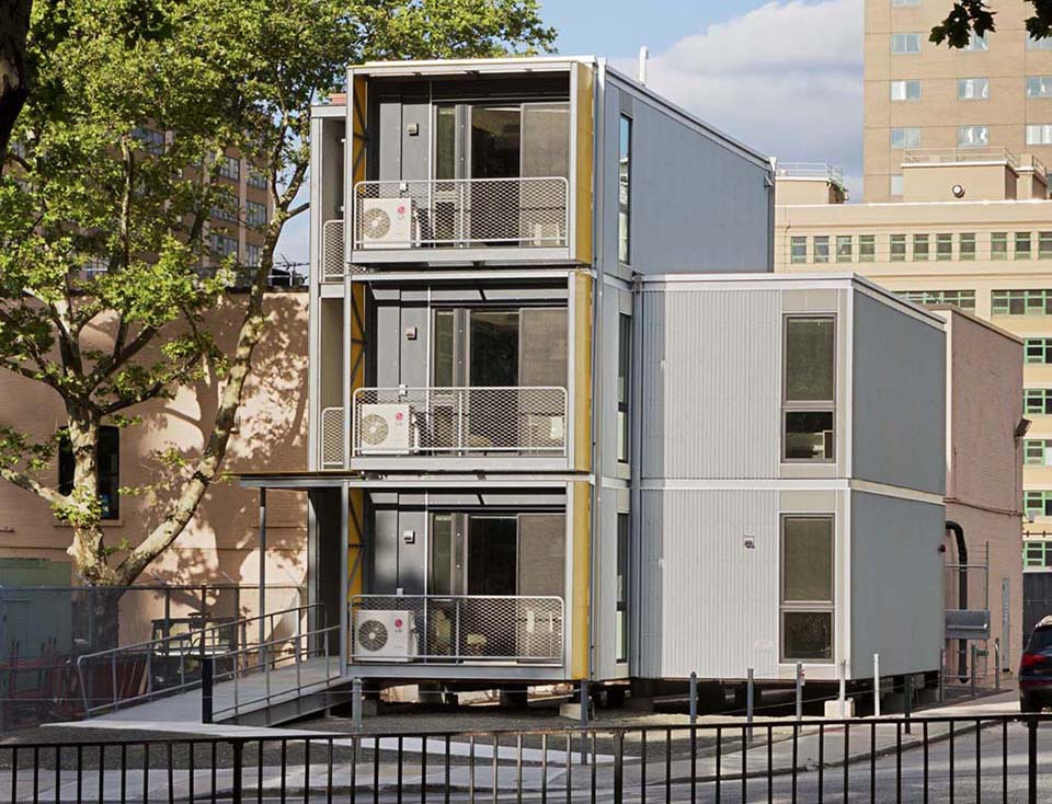 Pop Up Housing – Urban Post Disaster Housing Prototype 1