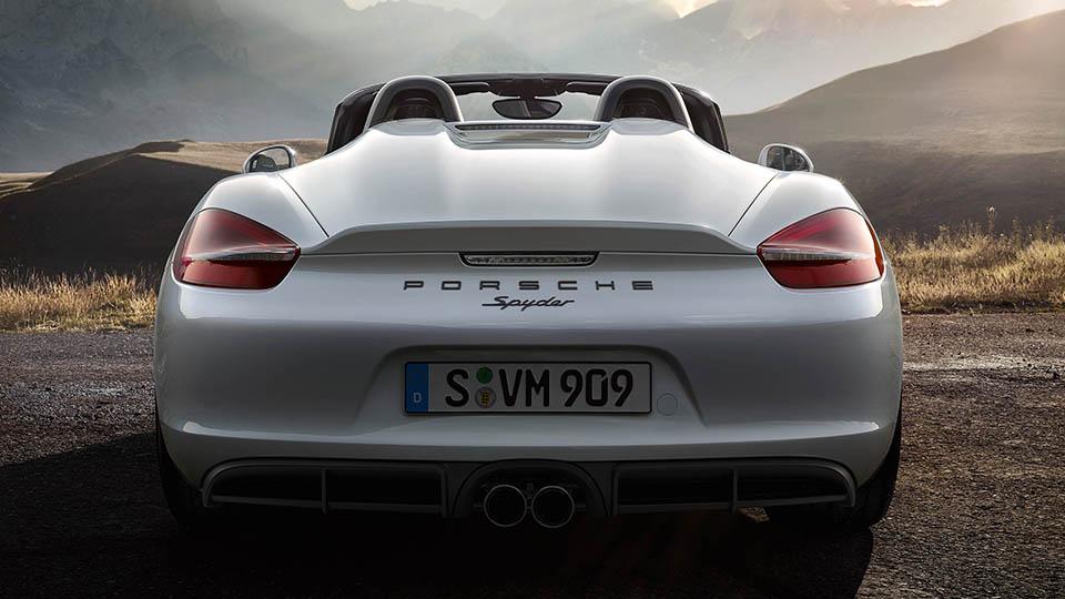 Porsche Boxter Spyder 10