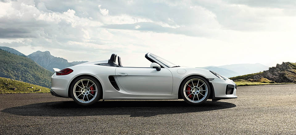 Porsche Boxter Spyder 4