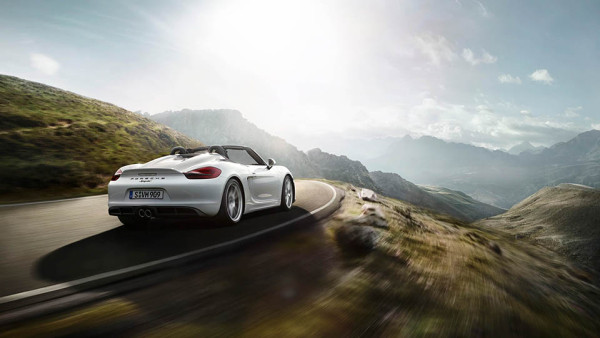 Porsche Boxter Spyder 5 600x338 The Thrilling Porsche Boxter Spyder Takes Porsche Back to Its Roots