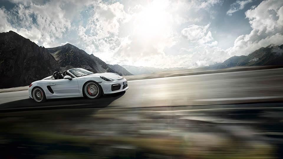 Porsche Boxter Spyder 8
