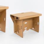 Cardboard Design: Refold Cardboard Standing Desk 3