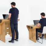 Cardboard Design: Refold-Cardboard-Standing-Desk-2