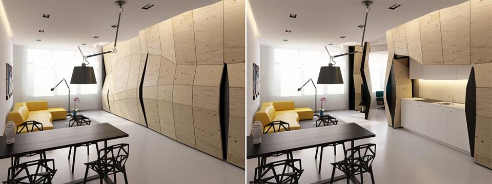 Transformer Apartment by Vlad Mishin 1