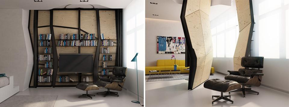 Transformer Apartment by Vlad Mishin 2