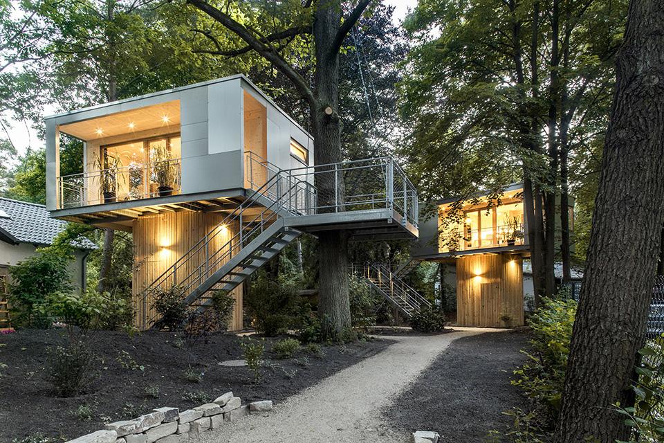 Urban Treehouse by Baumraum 4