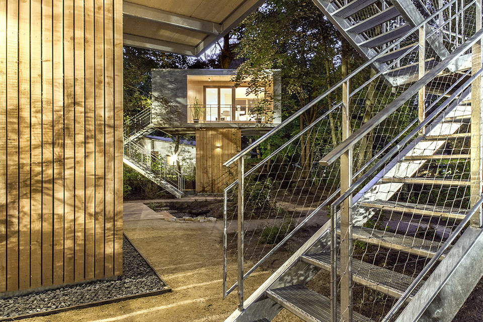 Urban Treehouse by Baumraum 5