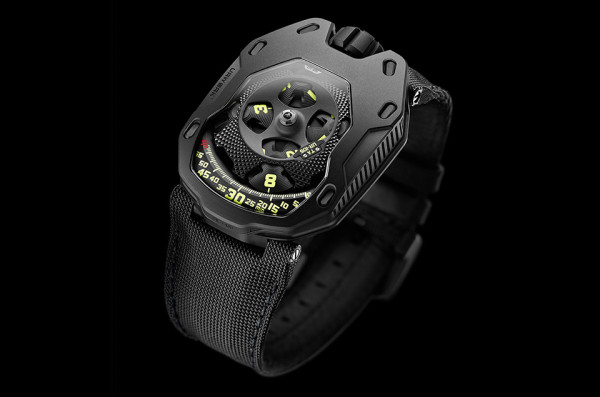 Urwerk 105TA Watch 1 600x397 The Urwerk 105TA Watch is Probably Powered by Magic