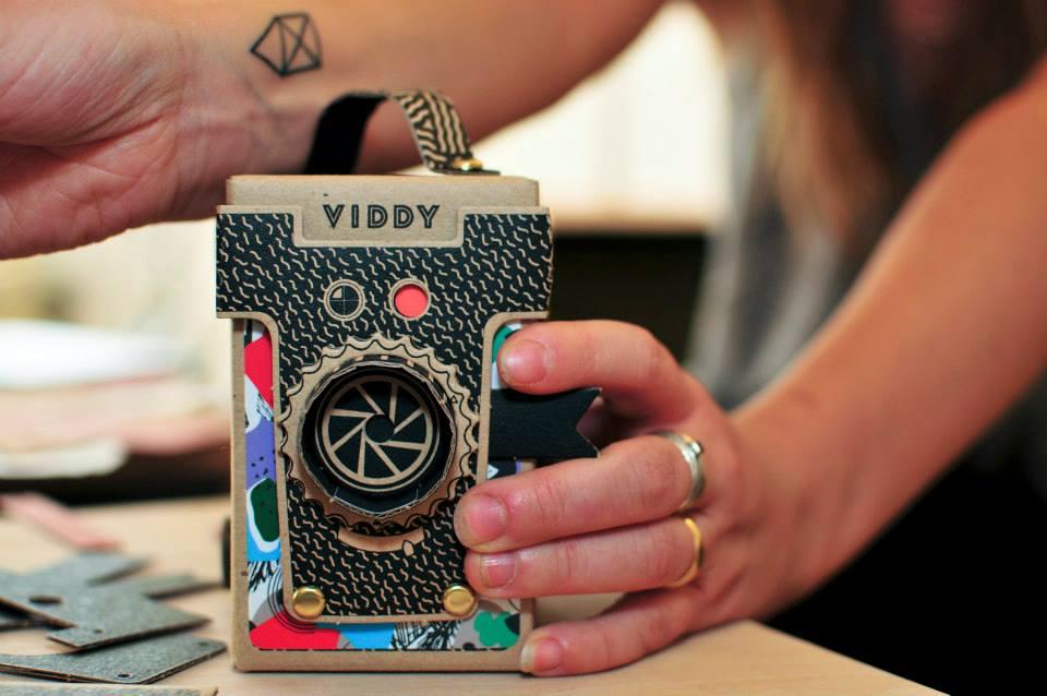 Cardboard Gadget Design: Viddy Pinhole Camera 1