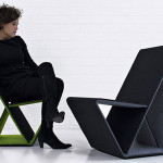 Vouwwow Cardboard Chair 1