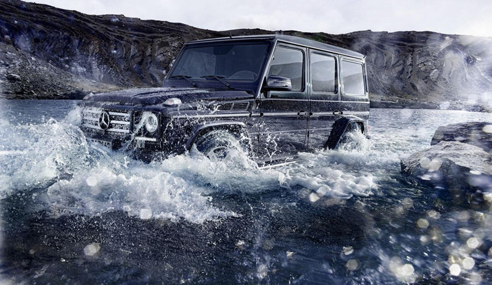 2016 Mercedes Benz G Class 2 960x557 Is There Such a Thing as Too Much Power? The New G Class Tests Twin Turbos Off Road
