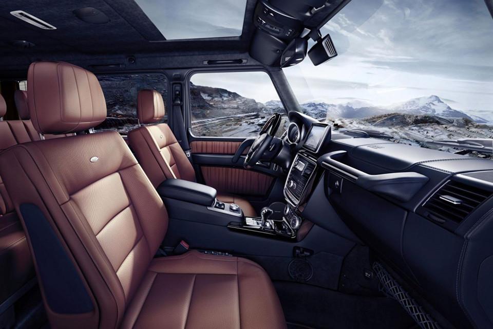 2016 Mercedes Benz G Class 7