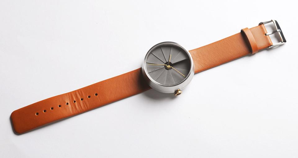 22 Design Studio 4th Dimension Concrete Wrist Watch 3